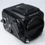Hasselblad ハッセルブラッド ☆500C/Mボディ 黒+アキュートマットD+A12マガジン+WLファインダー