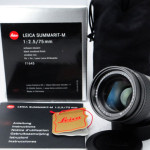 LEICA ライカ Summarit ズマリット 75mmF2.5 元箱、ポーチ、取説