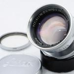 LEICA ライカ Summicron ズミクロン 50mmF2 沈胴 L(関東カメラ整備済み) + UVaフィルター