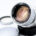 LEICA ライカ Summicron ズミクロン 固定鏡胴 50mmF2 後期型 M+UVaフィルター