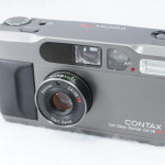 CONTAX コンタックス T2 チタンブラック Carl Zeiss Sonnar ゾナー 2.8/38 38mm/F2.8 +元箱一式+データバック