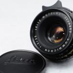 LEICA ライカ Summicron ズミクロン 35mmF2 第2世代 前期 ツノ付 ドイツ製 + UVaフィルター