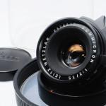 LEICA ライカ Summicron ズミクロン 35mmF2 第2世代 前期 ツノ付 ドイツ製 + バブルケース
