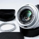 LEICA ズミクロン Summicron-M 35mm F2 ASPH 第5世代 6bit シルバー 現行レンズ + 元箱