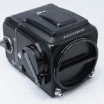 Hasselblad ハッセルブラッド 人気の500C/M ボディ 黒(中村光学OH済)+A12マガジン+WLファインダー
