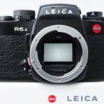 LEICA ライカの人気一眼レフ R6.2 ブラック