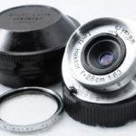 LEICA ライカ Leitz Hektor ヘクトール 28mmF6.3 2,8cm 1:6,3 広角 + UVフィルター + プラケース