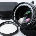 LEICA ライカ Summilux-M ズミルックス 35mm F1.4 ASPH 第4世代 + UVフィルター + 純正フード