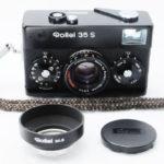 Rollei 35S Sonnar ローライ ゾナー 40mmF2.8 2.8/40 HFT ブラック+UVフィルター+純正フード