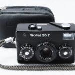Rollei 35 T Tessar 40mmF3.5 ローライ テッサー Black 黒 + ソフトケース + 取説(コピー)