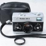 Rollei 35S Sonnar ローライ ゾナー 40mmF2.8 2.8/40 HFT シルバー+SLフィルター+ポーチ+取説(コピー)