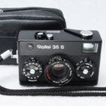Rollei 35S Sonnar ローライ ゾナー 40mmF2.8 2.8/40 HFT ブラック+ポーチ+取説(コピー)