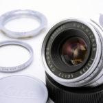 LEICA ライカ Summicronズミクロン 35mmF2 第1世代 8枚玉 Lマウント(中村光学OH済)+ UVaフィルター + L-Mアダプター