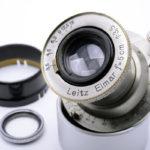LEICA ライカ Elmar ニッケルエルマー 50mmF3.5 L 1930~32年 ドイツ製 + フィルター + おまけフード