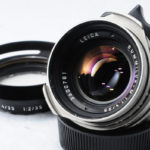 LEICA ライカ Summilux ズミルックス 35mmF1.4 第1世代 後期(Ver.2) チタン仕上げ + 純正フード