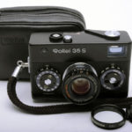 Rollei 35S Sonnar ローライ ゾナー 40mmF2.8 2.8/40 HFT ブラック+フィルター+ポーチ+取説(コピー)