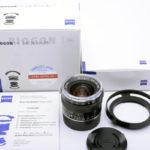 Carl Zeiss カールツァイス Biogon ビオゴン T* 28mm F2.8 2.8/28 ZM + 元箱一式 + 専用フード