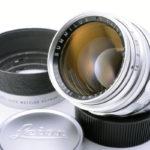 LEICA ライカ Summilux ズミルックス 50mmF1.4 第1世代 前期 逆ローレット M + 純正フード