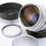 LEICA ライカ Summilux ズミルックス 50mmF1.4 第1世代 前期 M + 純正フード + UVaフィルター