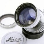 LEICA ライカ Summitar 戦後コーテッド ズミタール 後期 丸絞り 50mm F2 L + SLフィルター