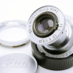 LEICA ライカ Elmar 赤エルマー 50mmF3.5 L + L-Mリング