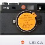 LEICA ライカ M8(8.2UP glade)デジタル ブラックボディ 元箱、付属品一式