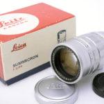LEICA ライカ Summicron ズミクロン 90mm F2 M 第2世代 クローム + 元箱