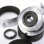 LEICA ライカ Elmar エルマー 35mmF3.5 L 最初期ノンコート(ウエハラ・カメラサービスOH済)+UVフィルター