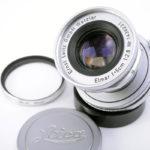 LEICA ライカ Elmar 蒼紫コーテッドエルマー 50mmF2.8 L + UVフィルター