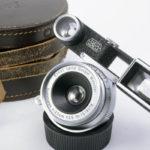 LEICA ライカ Summaron ブルーコーテッドズマロン 35mmF3.5 メガネ付(中村光学OH済)+純正革ケース