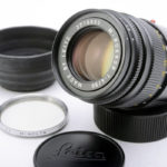 M ROKKOR 90mm F4 CLE時代 M minolta ロッコール + 純正フード + UVフィルター
