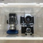 ハッセルブラッド1000F、ペンタコンシックス TL、ビオメター80mmゼブラ柄など貴重な品を買い取らせていただきました!