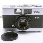 Rollei B35  Triotar 40mm F3.5 シルバー+純正キャップ(中村光学整備済)