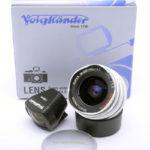 Voigtlander フォクトレンダー SUPER WIDE-HELIAR スーパーワイドヘリアー 15mm F4.5 ASPHRICAL 初代 + 元箱一式