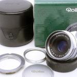 Rollei ローライ Sonnar ゾナー 40mm F2.8 HFT シルバー L/Mマウント + 元箱