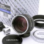 KONICA コニカ HEXANON ヘキサノン 60mm F1.2 Lマウント(限定生産)+ UVフィルター + 元箱一式