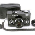 Rollei 35 Tessar ローライ テッサー 40mmF3.5 3.5/40 ブラック + 純正ケース + おまけフード