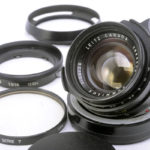 LEICA ライカ Summilux ズミルックス 35mmF1.4 第2世代 後期(ver.2、山崎光学OH済)+ 純正フード&フィルター