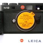 LEICA ライカ M8 ブラック 元箱付属品一式(ライカジャパンメンテ済)+ハンドグリップ+UV/IRフィルター3種