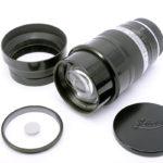 LEICA ライカ Thambar タンバール 90mm F2.2 L(中村光学OH済)+ 純正フード + センターフィルター