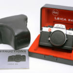 LEICA ライカ 一眼レフ R4 シルバー + 革ケース&ストラップ + 日本語取説