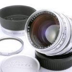 LEICA ライカ Summilux ズミルックス 50mmF1.4 第1世代 前期 M(中村光学OH済) 純正フード、UVaフィルター、前後キャップ