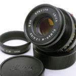 LEICA ライカ Elmar エルマー 沈胴 50mmF2.8 M ブラック 2nd E39 現行モデル