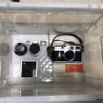 ライカM3最初期型、Summicron50mmF2DR(デュアルレンジ)などなどを買い取らせていただきました!