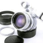 LEICA ライカ Summicron ズミクロン DR 50mmF2 M 前期 メガネ付 + UVaフィルター + 純正フード
