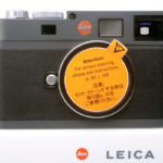 LEICA ライカ M-E デジタル アンスラサイトグレー 元箱、付属品一式(ライカジャパンCCD交換済)