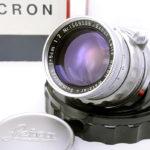 LEICA ライカ Summicron ズミクロン 固定鏡胴 50mmF2 後期型 M