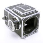 Hasselblad ハッセルブラッド ☆500C/Mボディ +ノブメーター +アキュートマット+A12マガジン+WLファインダー