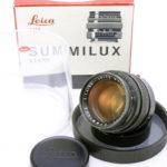 LEICA ライカ Summilux ズミルックス 50mmF1.4 第2世代(中村光学OH済)+ BOX