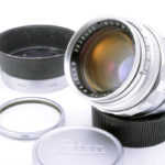 LEICA ライカ Summilux ズミルックス 50mmF1.4 第1世代 後期 M 純正フード+UVaフィルター+前後キャップ
